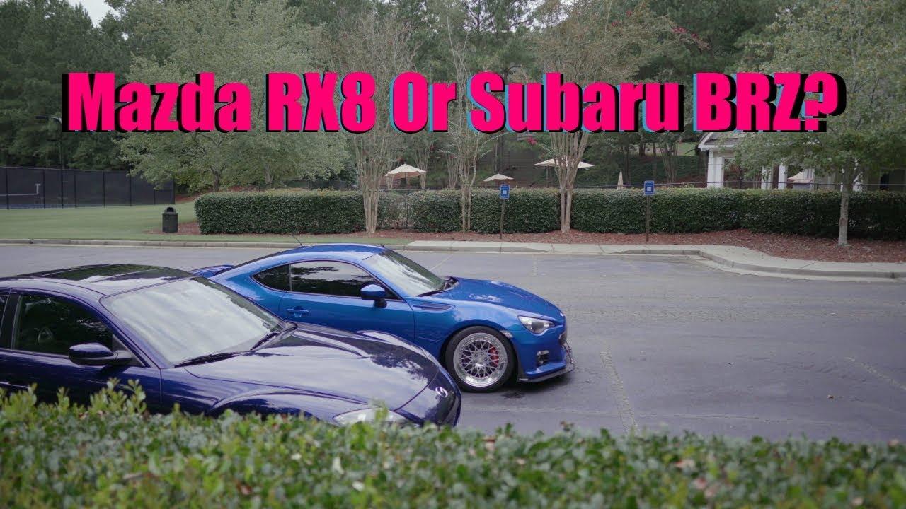 Subaru BRZ Or Mazda RX8? First Car? Aftermarket Vs Stock