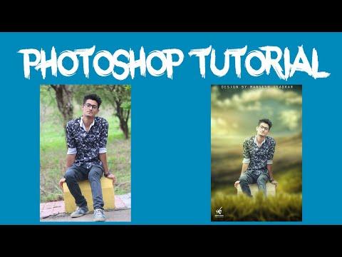 Background Forground   Photoshop Tutorial   Basic Editing   thumbnail
