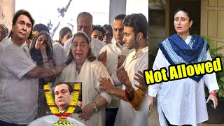 Why Kareena Kapoor Was NOT Allowed To Attend Uncle Rajiv Kapoor's Funeral by Head Of The Family