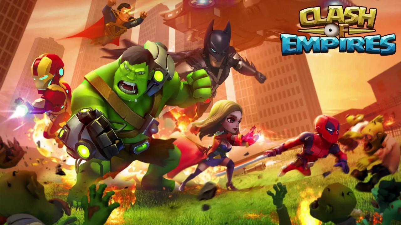 download clash of empires zombies war mod apk