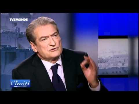 """Sali BERISHA : """"Le processus d'adhésion de l'Albanie à l'Europe est irreversible"""""""