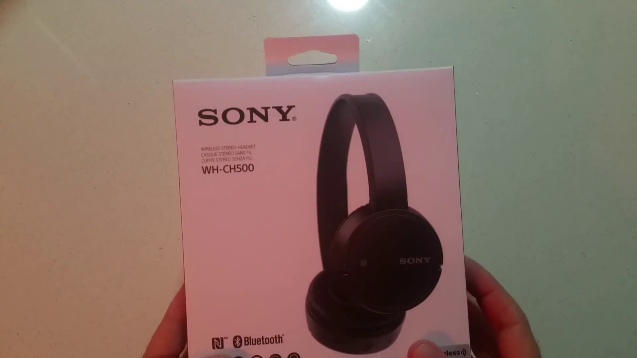 30ca87be426 Cuffie SONY WH-CH500 Bluetooth RECENSIONE - YouTube