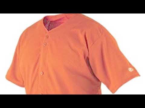 Rawlings Mens Full Button RBJ167 Jersey