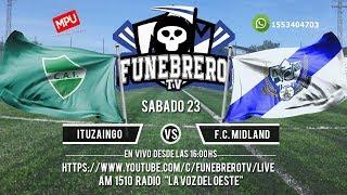 Ituzaingo vs F.C. Midland  - en vivo- 25° Fecha Primera C 2018/19