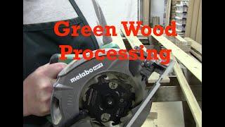Processing Lumber with Metabo Circular Saw - PLANE TALK - 1 June 2019 - #PLANETALK
