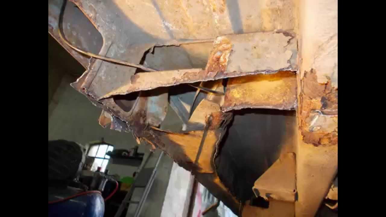 Fiat Ducato Rust Repair Blacharka Youtube