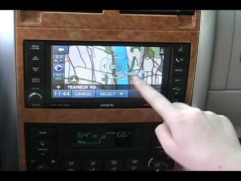 chrysler s navigation system as seen on the 2008 dodge aspen hybrid rh youtube com