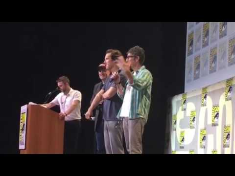 Benedict Cumberbatch Dr Strange Panel Introduction At Comic Con #SDCC