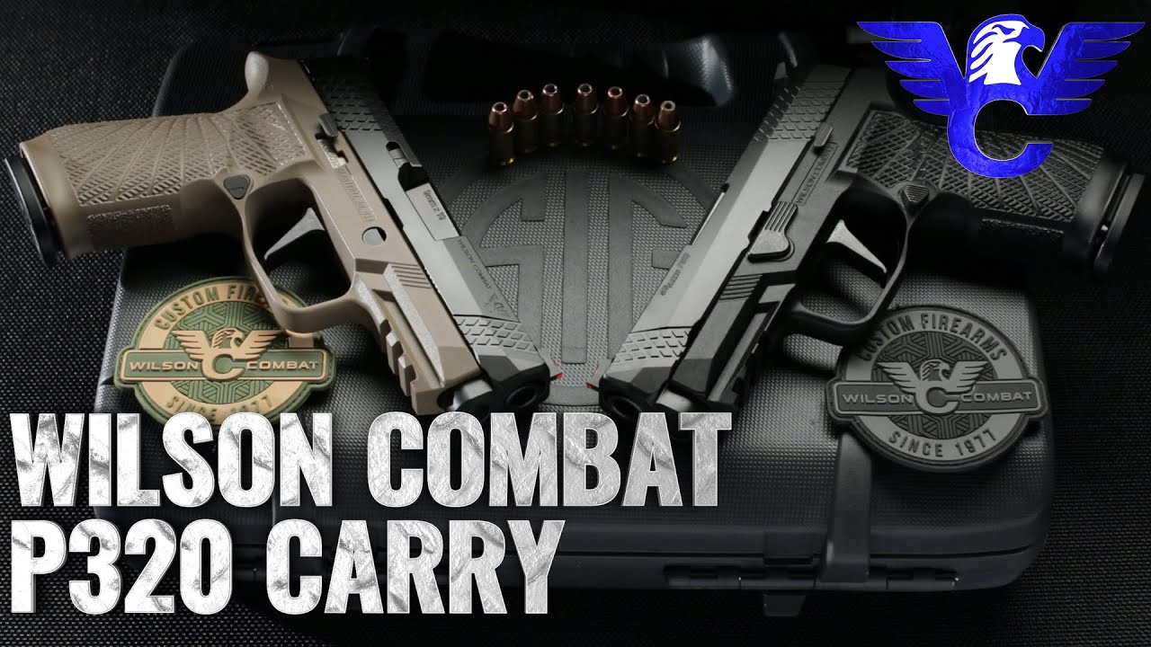 Carry-sized Sig P320 from Wilson Combat