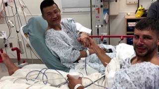 Video Korean Zombie & Yair Rodriguez in Hospital after epic battle Dana White & MMA Pros React to download MP3, 3GP, MP4, WEBM, AVI, FLV November 2018