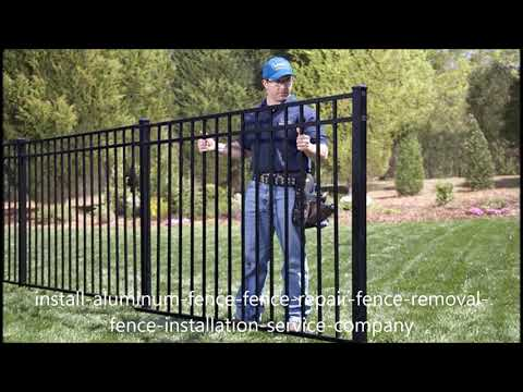 Affordable Aluminum Fence Installation Service and Cost in Las Vegas NV | Service-Vegas