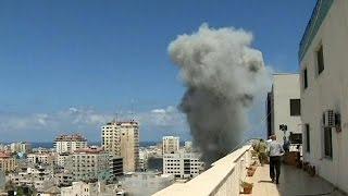 """Gaza sob fogo israelita ao 11.° dia da """"Operação Margem Protetora"""""""