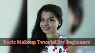 Basic Makeup tutorial for Beginners