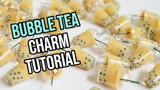 Mini Bubble Tea Charm Tutorial