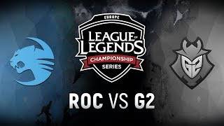 ROC vs. G2 - Week 6 Day 1 | EU LCS Spring Split |  Team Roccat vs. G2 Esports (2018)