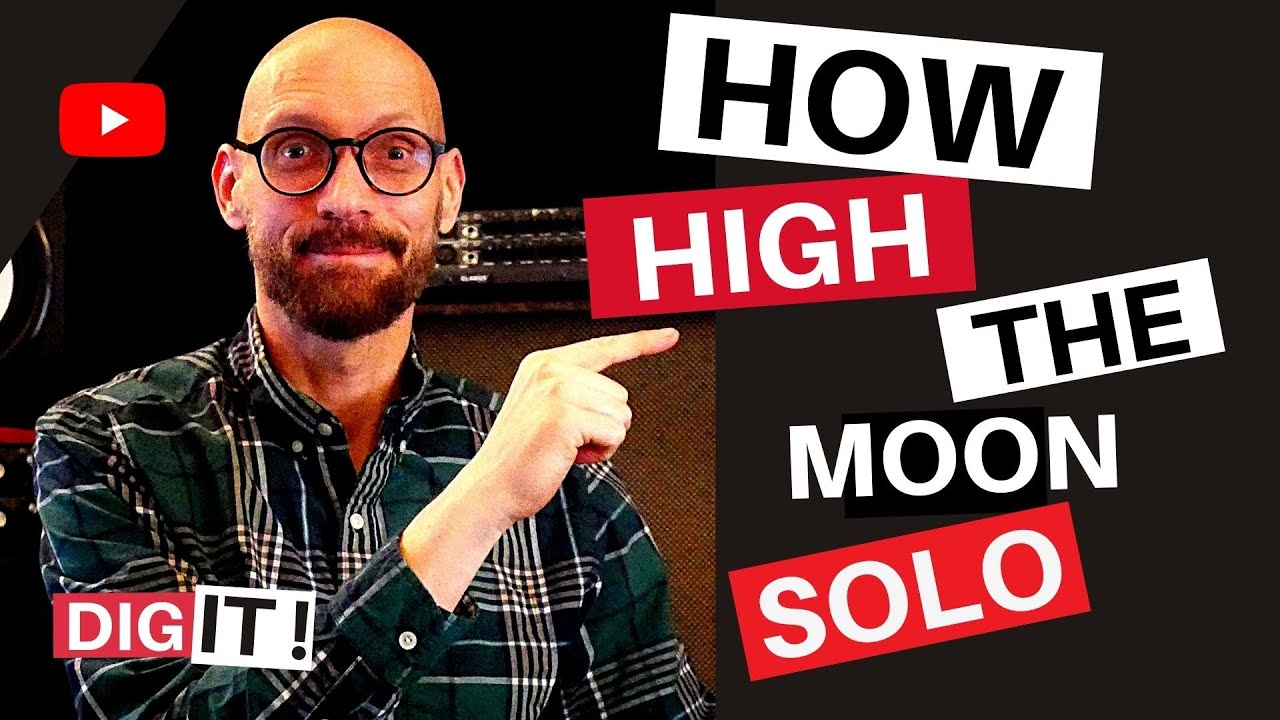 How High The Moon Jazz Guitar Lesson