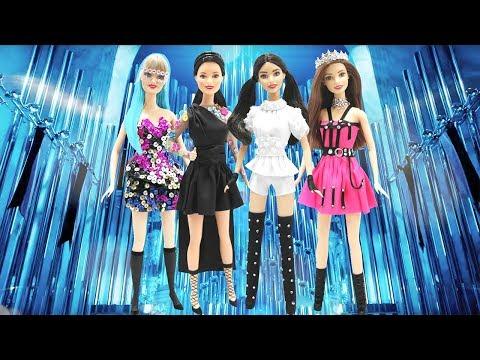 Play Doh  BLACKPINK 'Kill This Love' Jennie, Lisa, Jisoo, Rose Inspired Costumes