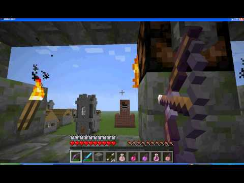 RK Gaming Minecraftta kale savaşları yapıyoruz bölüm 1