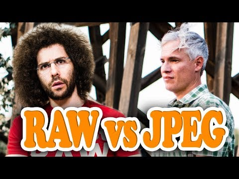 Tony Northrup's CONFUSING RAW VS JPEG Video: My Thoughts