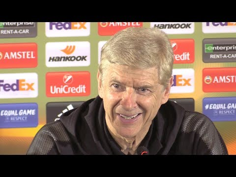 Arsene Wenger Full Pre-Match Press Conference - BATE Borisov v Arsenal - Europa League