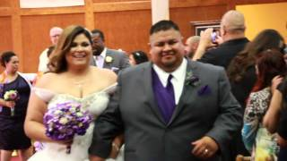 Frank and Cindy Ybarra Wedding Trailer