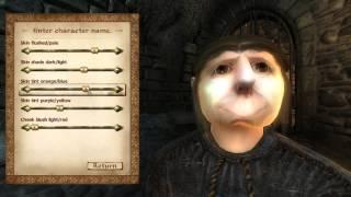 Oblivion самый уродский персонаж