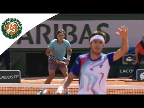 2014 French Open Shots of Day 7