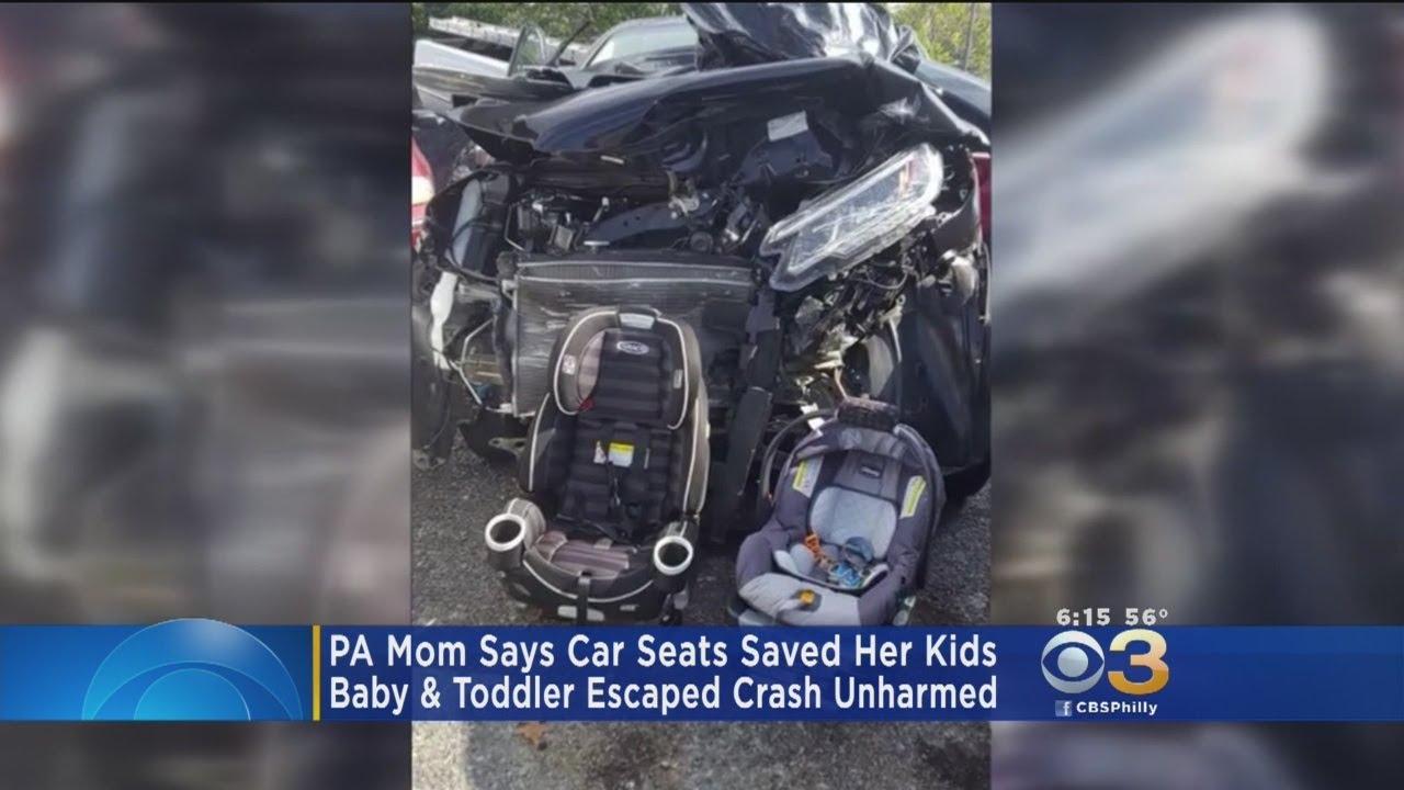 Pennsylvania Mother Says Car Seats Saved Her Kids
