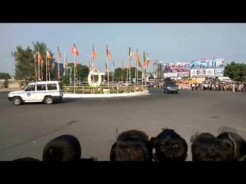 PM Narendra Modi at the inauguration of integrated terminal building of Vadodara Airport.