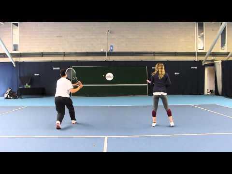 REBO wall at National Tennis Centre, UK.