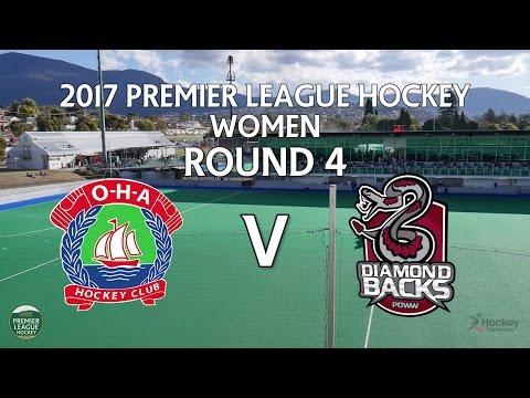OHA v Diamondbacks | Women Round 4 | Premier League Hockey 2017