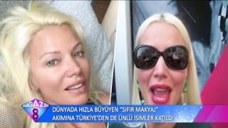 Dünya'da Hızla Büyüyen Sıfır Makyaj Akımına Türkiye'den Ünlü İsimler Katıldı