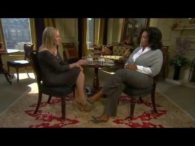Oprah & JK Rowling in Scotland