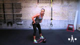 Unapologetically Powerful Demo: Kettlebell Superband Two-Handed Swing
