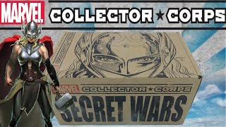 Marvel Collector Corps EXCLUSIVE Secret Wars Funko Spiderman Thor Godess