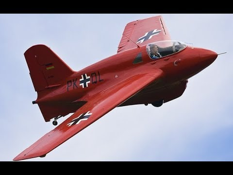 Secret Weapons: The Terrifying Me 163 Komet Rocket Powered Aircraft - Amazing Documentary TV