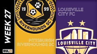 Pittsburgh Riverhounds SC vs. Louisville City FC: September 7th, 2019