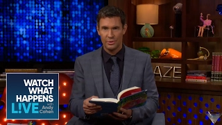Jeff Lewis Reads A Sneak Peek Of Andy's New Book, SUPERFICIAL | WWHL