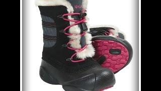видео Зимняя детская обувь Викинги (Viking)