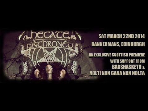 Hecate Enthroned - Live at the Bannermans, Edinburgh March 22, 2014 FULL SHOW