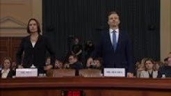 Witness denounces  fictional  Ukraine interference