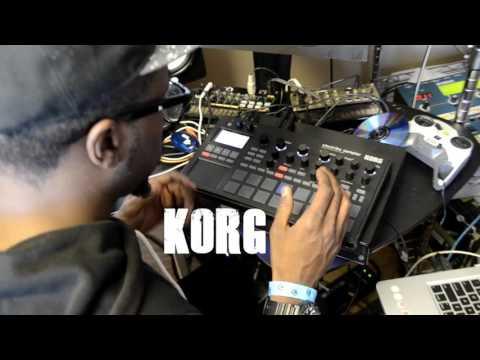 Korg Electribe Sampler 2 making Hip hop