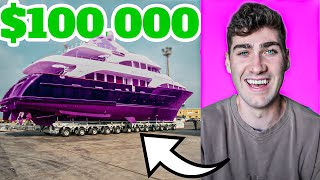 How I WON This $100,000 Yacht - Episode 1