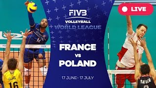 France v Poland - Group 1: 2016 FIVB Volleyball World League
