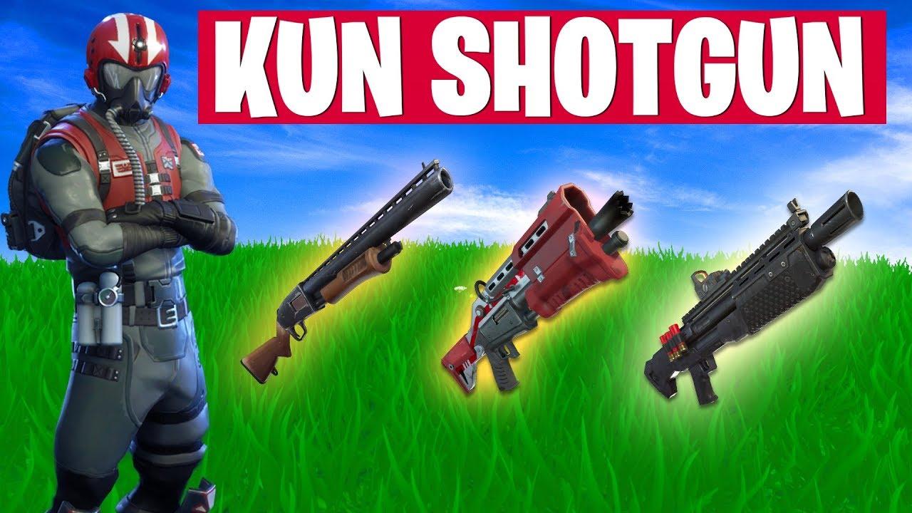 KUN SHOTGUN CHALLENGE!? Dansk Fortnite Battle Royal