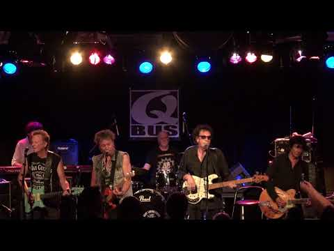 Dany Lademacher's Wild Romance  live at the club the Q bus in holland 2016 09 02