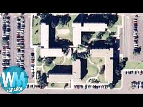 ¡Top 10 Cosas EXTRAÑAS Vistas en Google Earth!