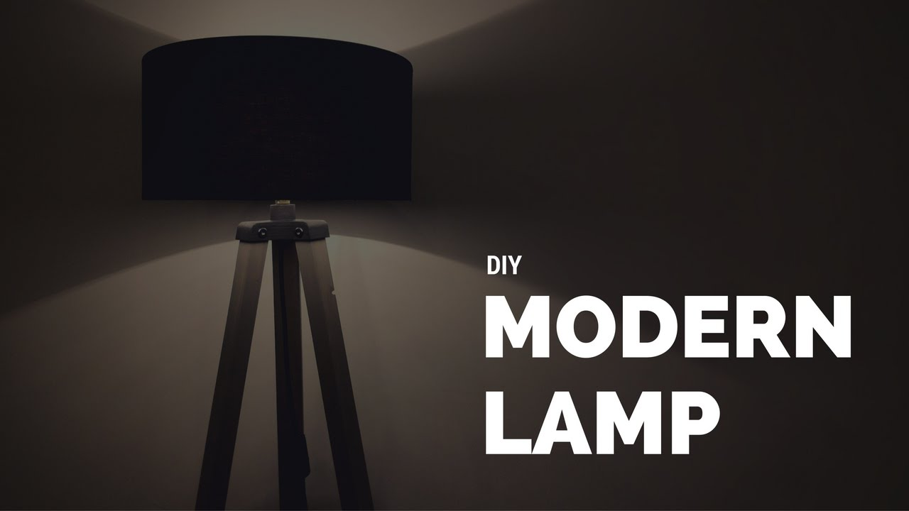 Diy modern lamp from wood and 3d printed parts youtube diy modern lamp from wood and 3d printed parts aloadofball Choice Image