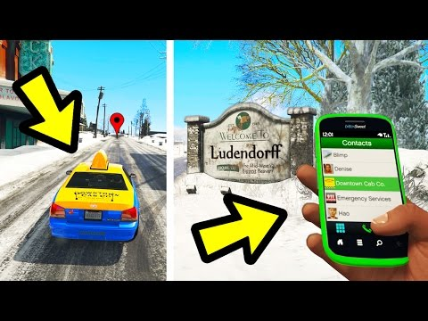 CAN YOU SEND A TAXI TO NORTH YANKTON? (GTA 5)
