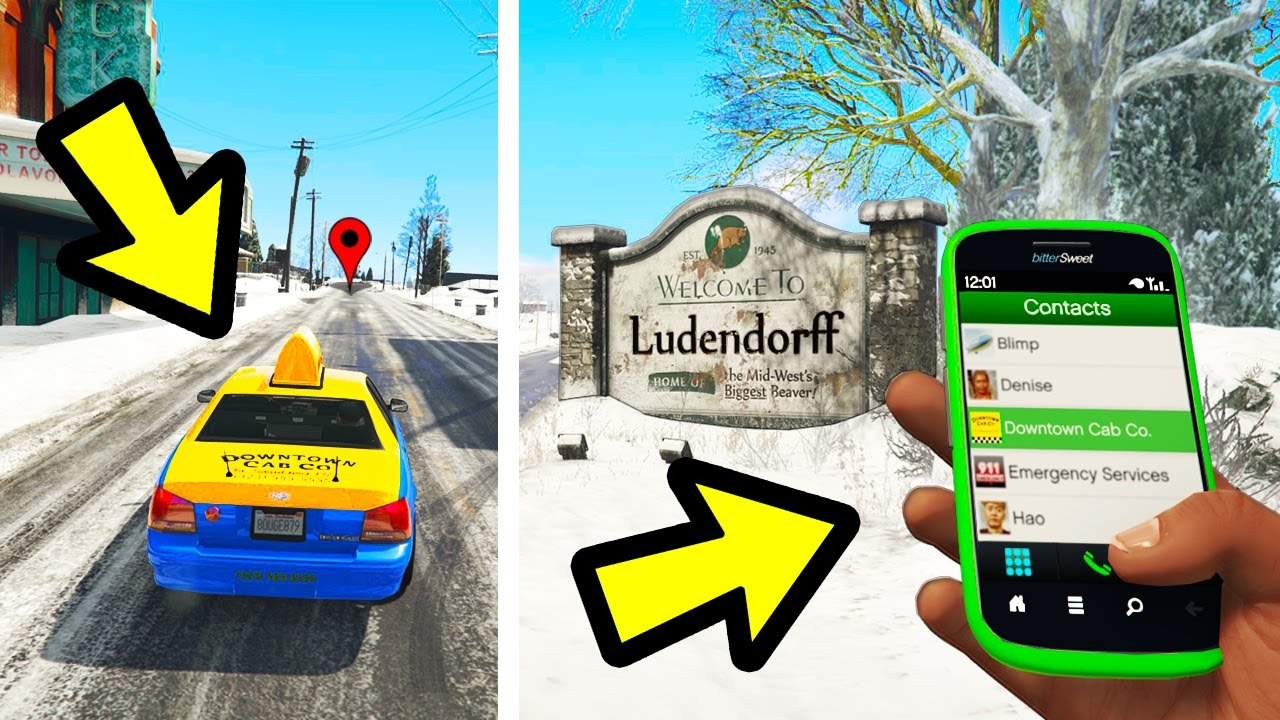 Download CAN YOU SEND A TAXI TO NORTH YANKTON? (GTA 5)